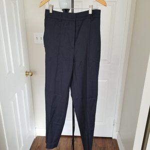 COS store navy size 6 wool pants